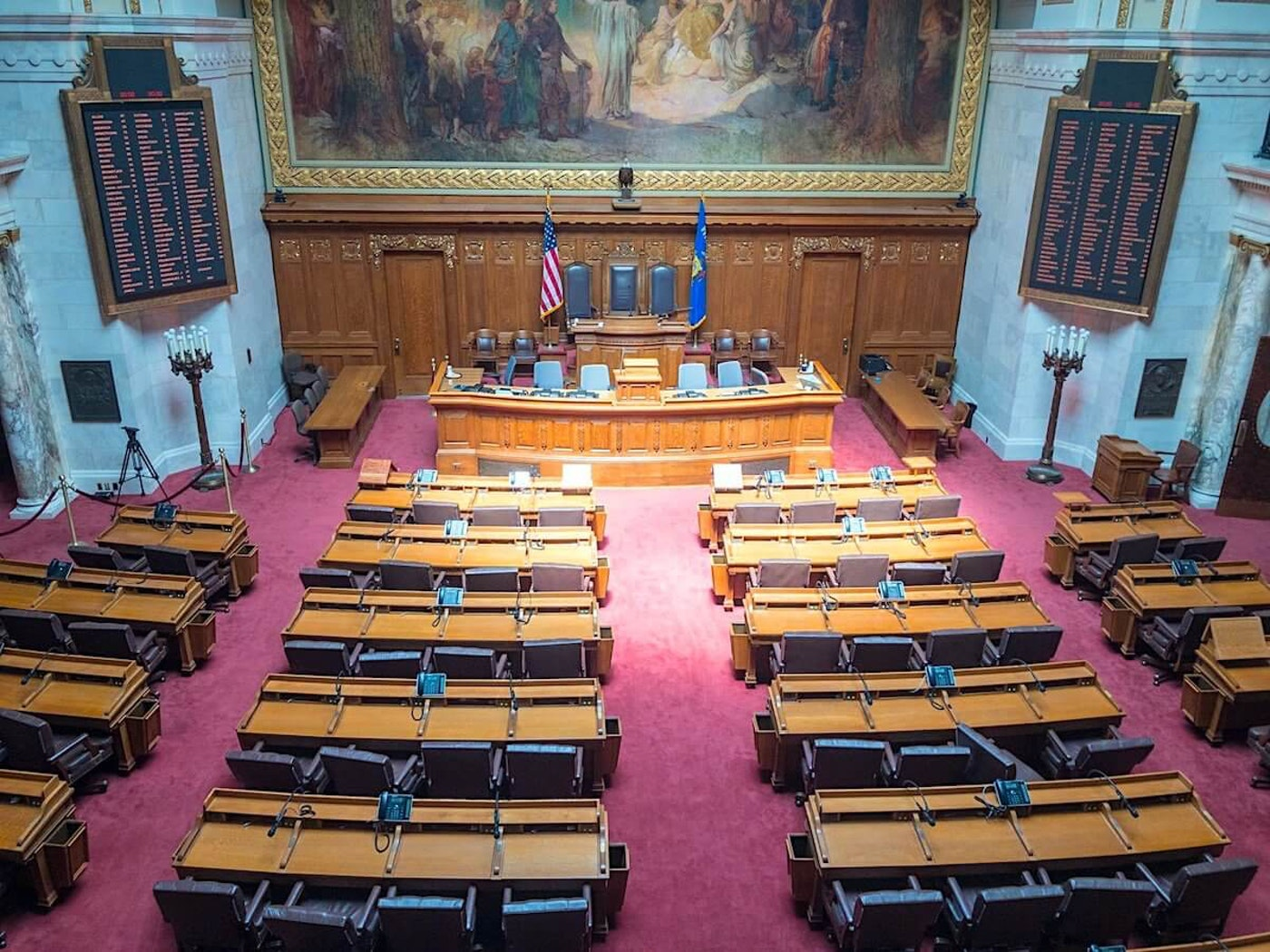Wisconsin assembly chamber