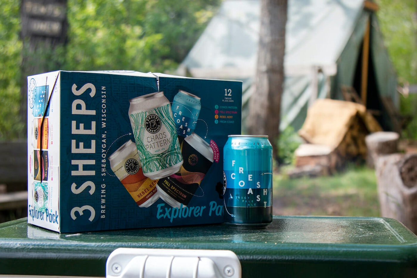 """3 Sheeps Brewing is selling a summer """"Explorer Pack"""" with four different summer beers. (Photo courtesy of 3 Sheeps Brewing)"""