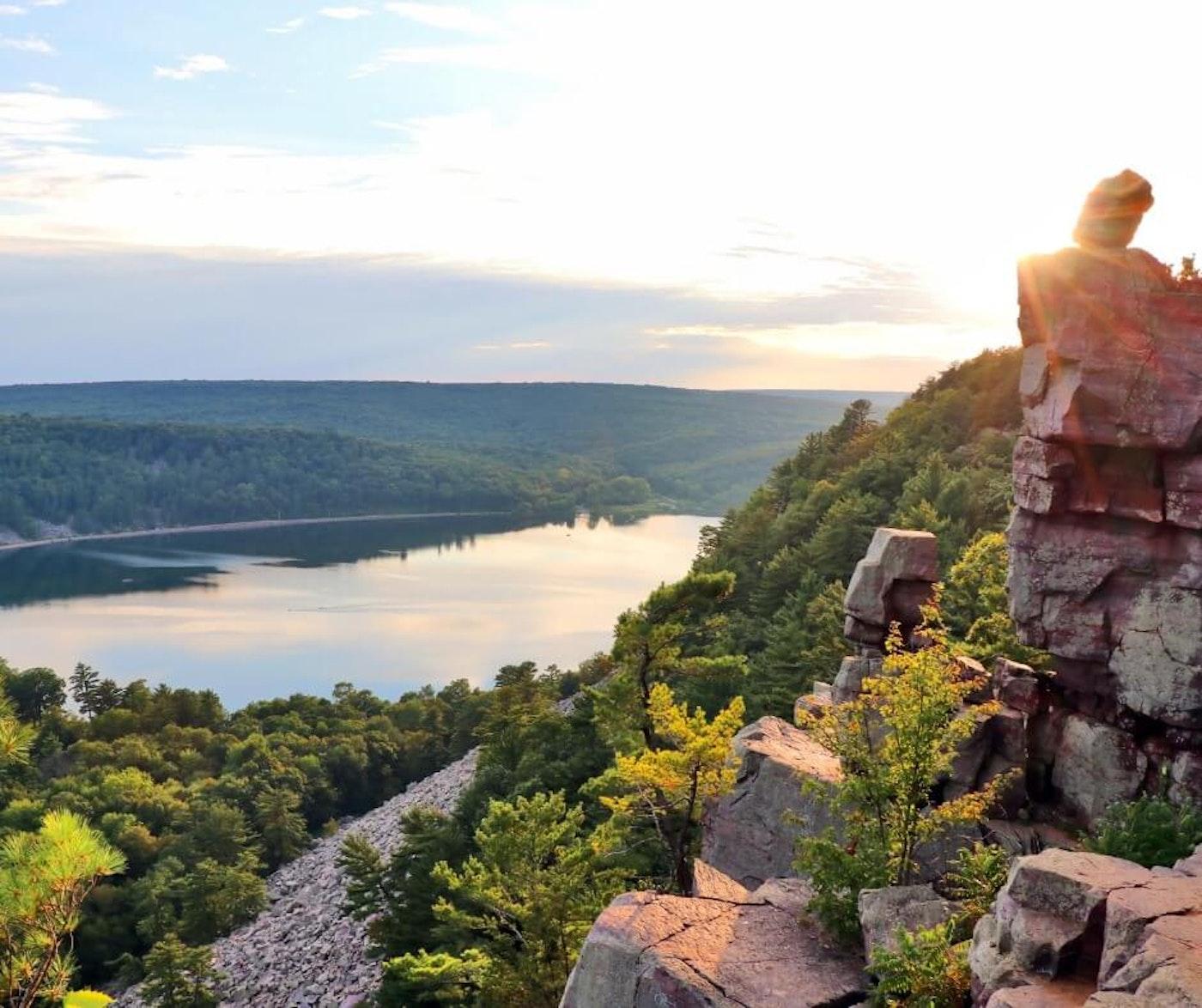 Devil's Lake State Park. (Photo via Wisconsin DNR)