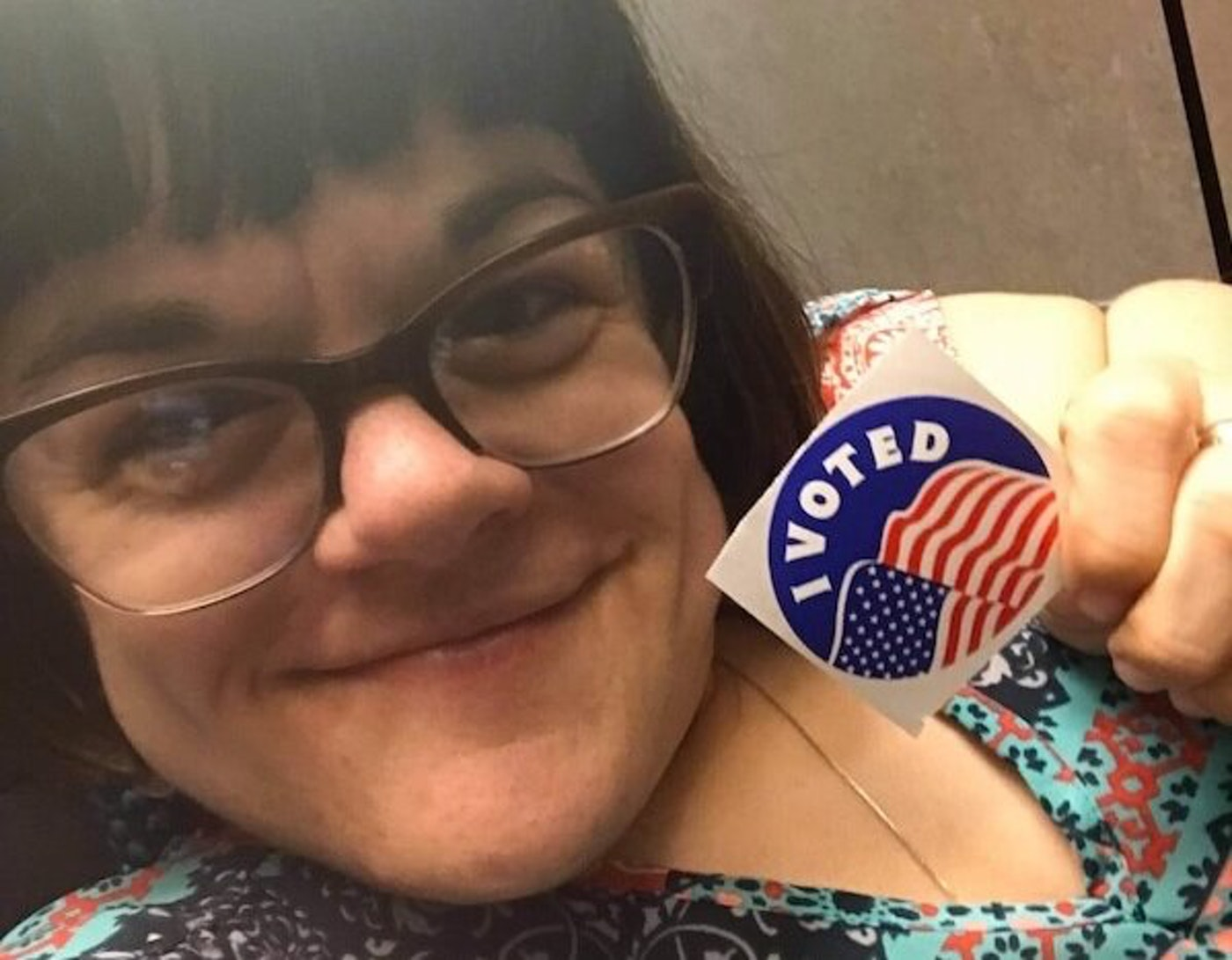 Stephanie Birmingham, a Sturgeon Bay resident who uses a wheelchair, is concerned current Republican-authored proposals would make it harder for her and other people with disabilities to cast ballots. (Photo courtesy of Stephanie Birmingham)