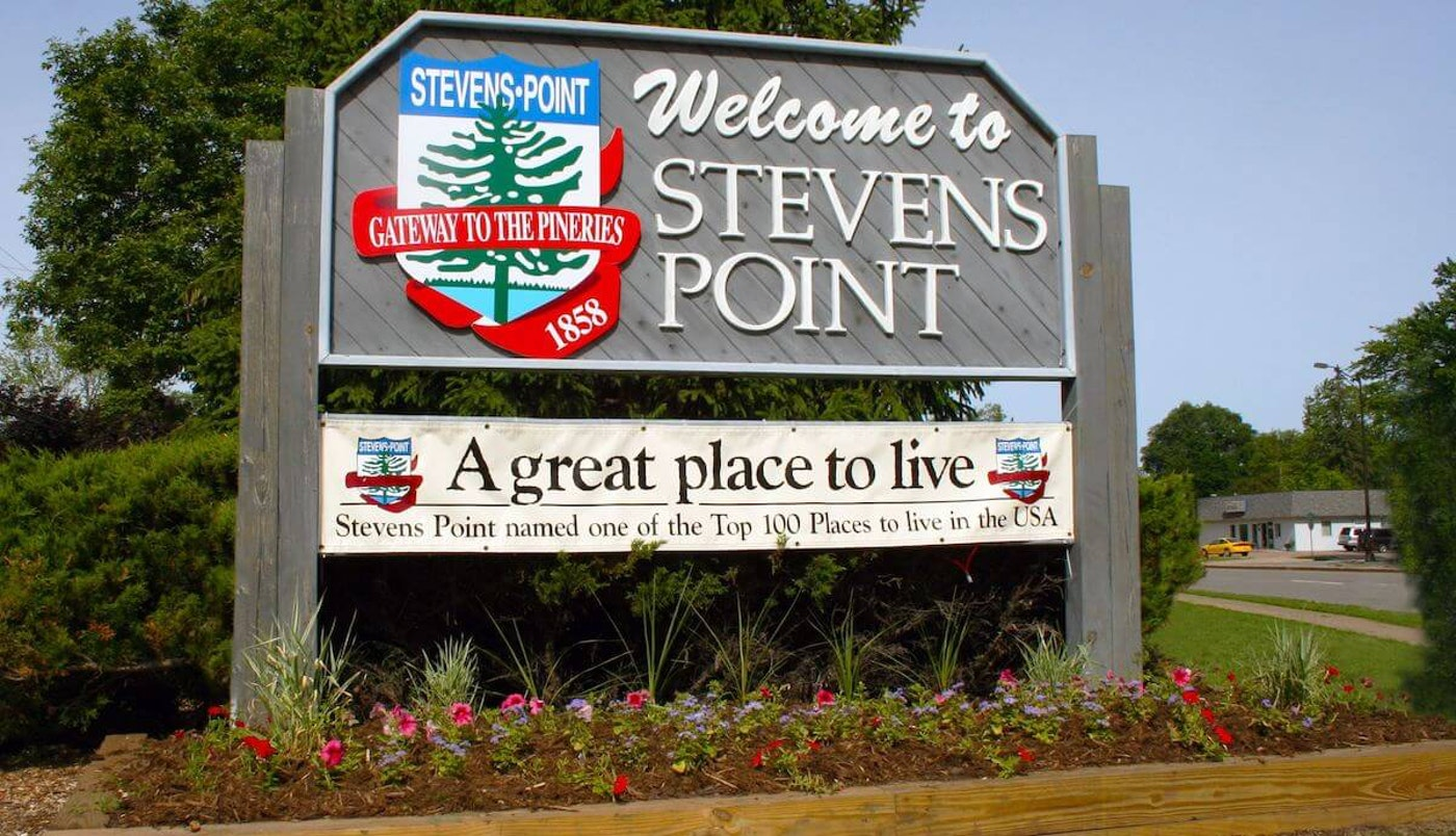 Stevens Point is set to receive $2.7 million from the American Rescue Plan. Mayor Mike Wiza said the money will be used to fill budget holes left by the pandemic. (Photo via City of Stevens Point/StevensPoint.com)