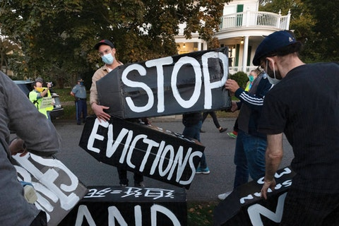 Housing advocates worry of a surge of homelessness in Wisconsin after the US Supreme Court struck down the federal eviction moratorium. (AP Photo/Michael Dwyer, File)