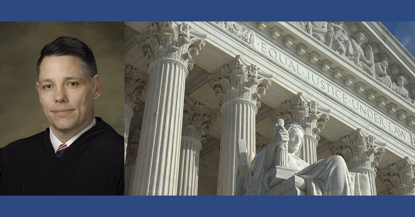 Pennsylvania jurist Peter Phipps is on Trump's shortlist of candidates for the US Supreme Court. (Photo via US District Court for the Western District of Pennsylvania)