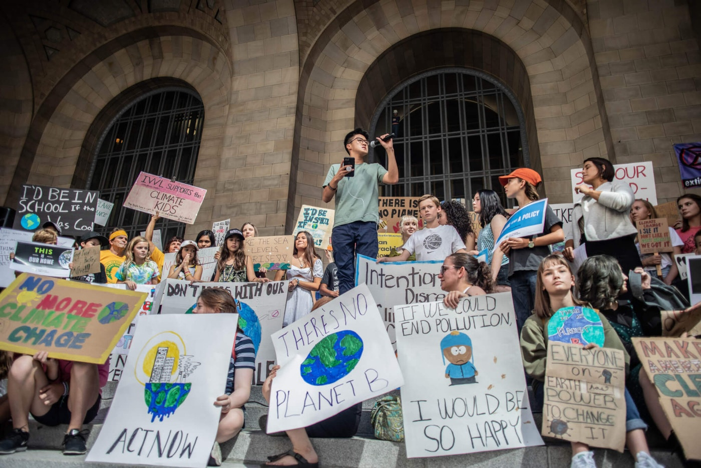 Rally in Pittsburgh, July 2019. Image via Shutterstock