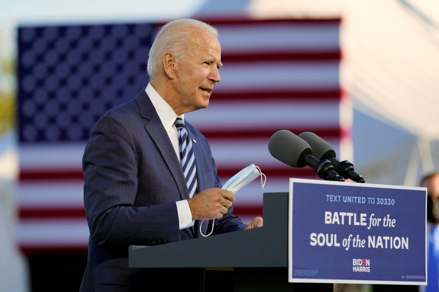 Democratic presidential nominee Joe Biden and vice presidential nominee Sen. Kamala Harris are calling for unity as the election draws closer.