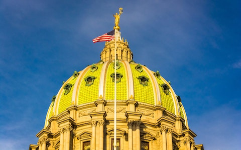 Pennsylvania's capitol complex will be closed to the public, starting Monday. (Shutterstock)