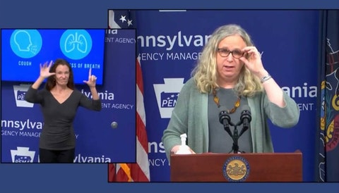 Health Secretary Dr. Rachel Levine talks about the rising number of cases in Pennsylvania.