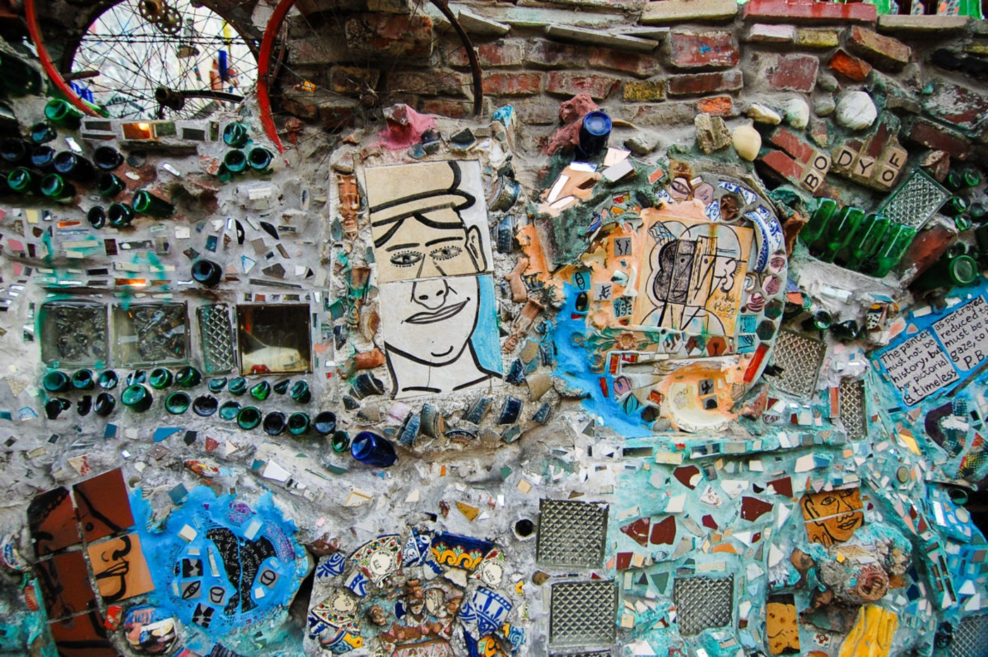Philadelphia's Magic Gardens on South Street is a gallery space created by mosaic artist Isaiah Zagar. (Shutterstock Photo/Stephan Schlachter)