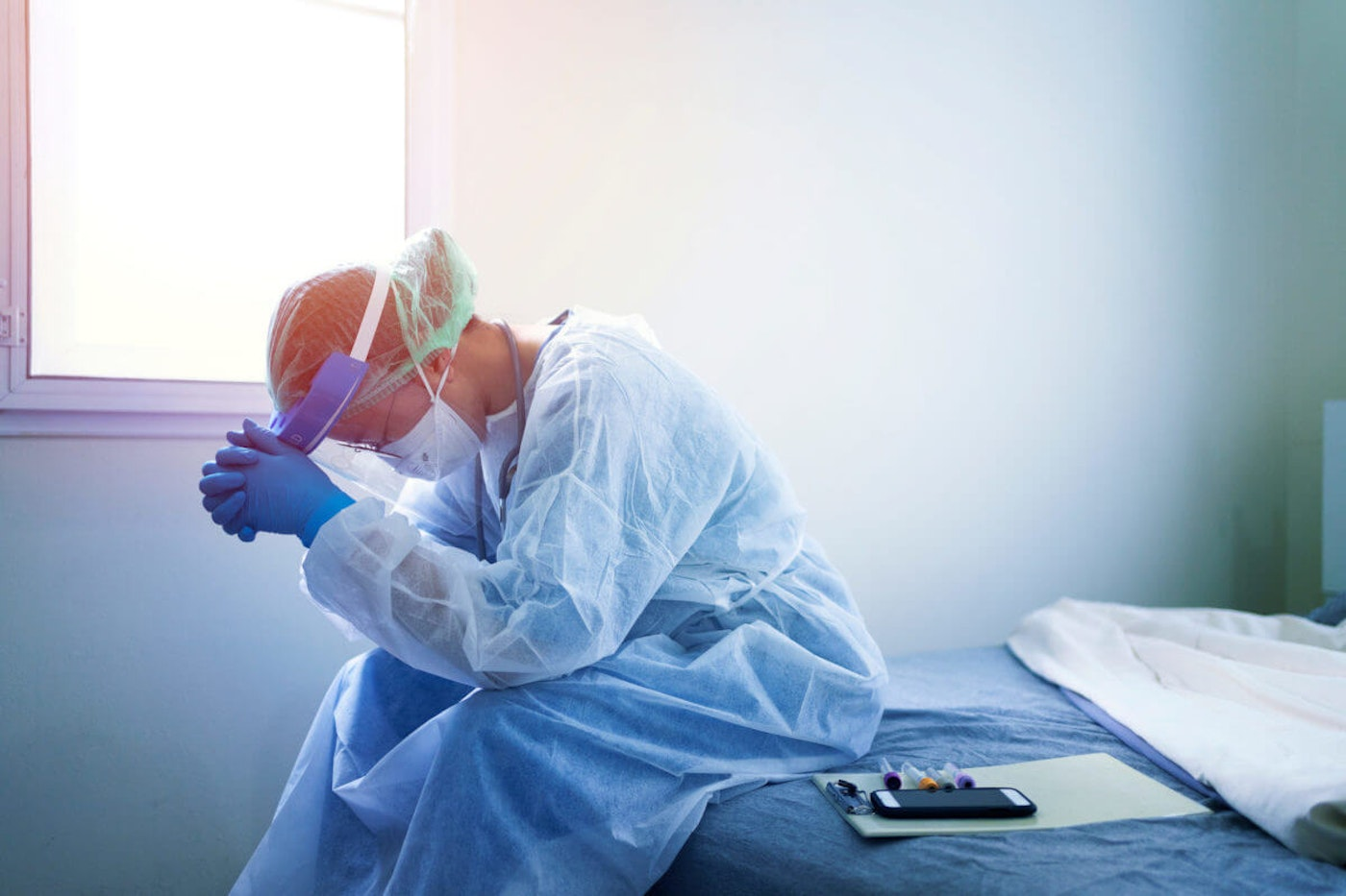 While Americans celebrate Thanksgiving, doctors, nurses, and healthcare workers will still be on the frontlines of the pandemic.
