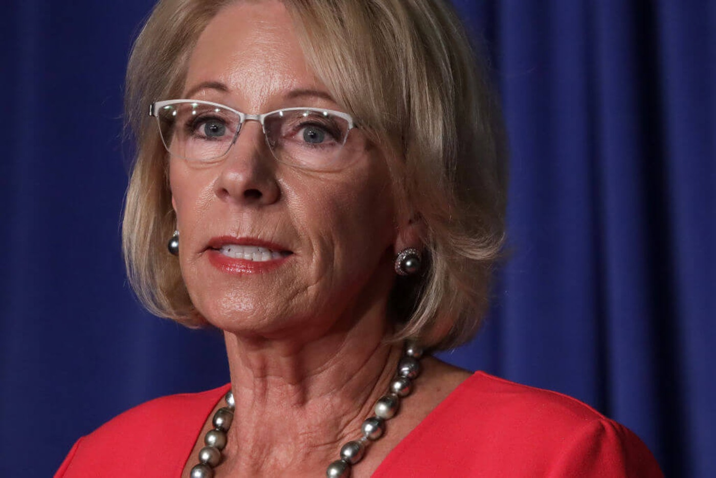 U.S. Secretary of Education Betsy DeVos (Photo by Alex Wong/Getty Images)