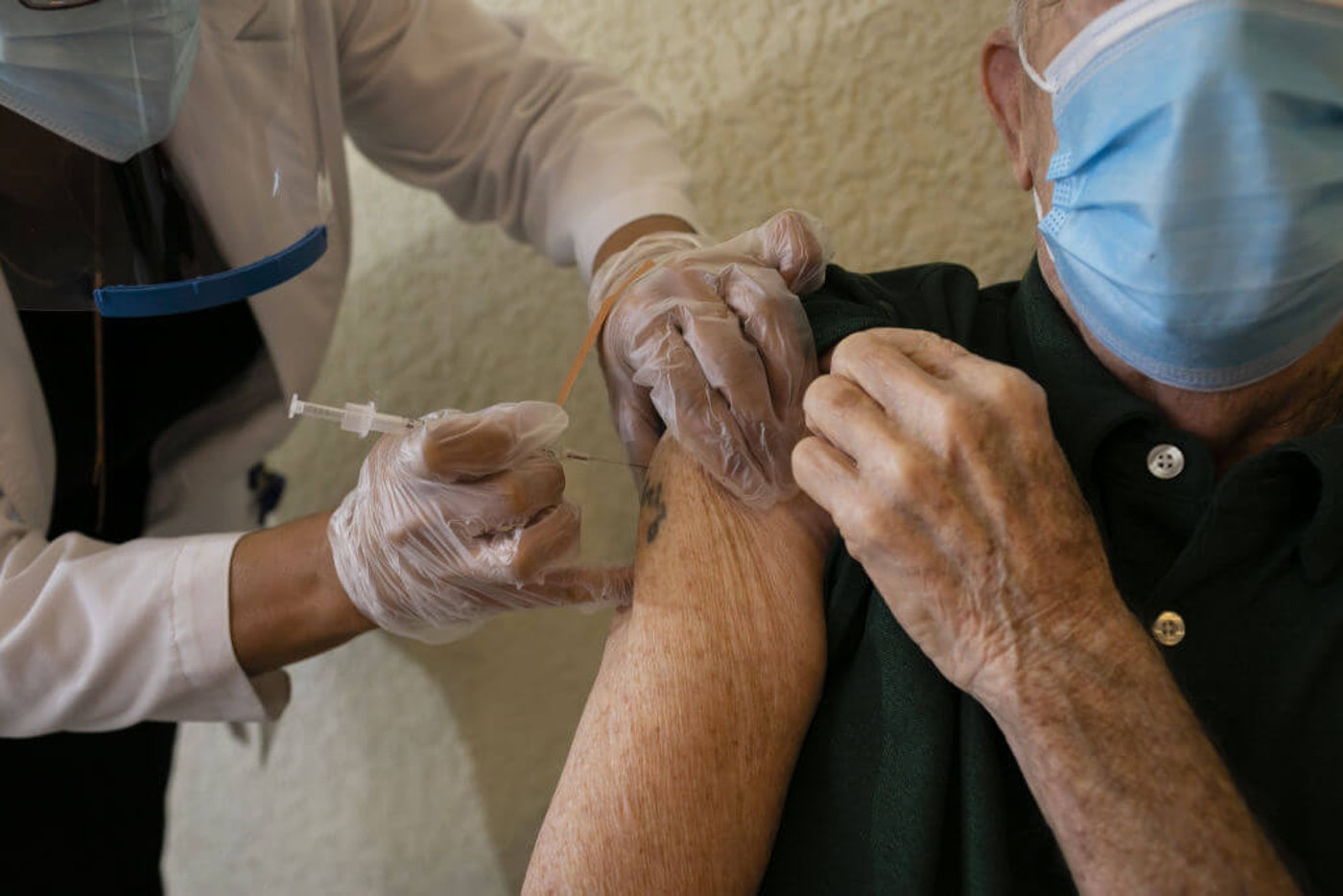 The addition of the Johnson & Johnson vaccine to the United States' arsenal of COVID vaccines—which so far includes one each from Pfizer and Moderna—could make vaccinating large numbers of people easier, once the supply is ready. (Anadolu Agency Photo via Getty Images/Eva Marie Uzcategui Trinkl)
