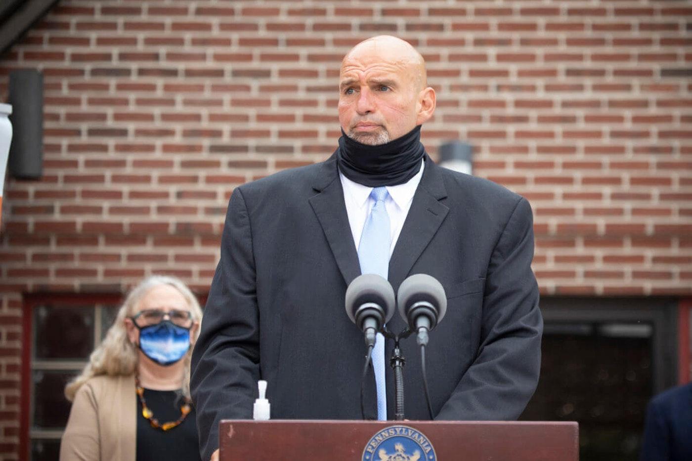 Lt. Gov. John Fetterman has been a proponent of unions and legalizing marijuana.