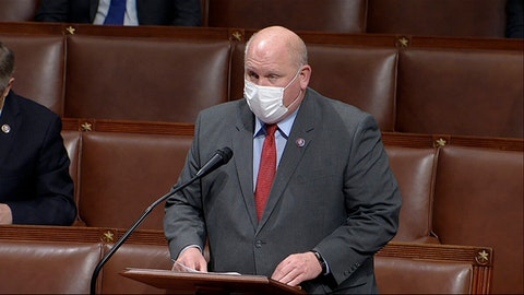 In this image from video, Rep. Glenn Thompson, R-Pa., speaks during House debates on Jan. 7, 2021. (House Television via AP)