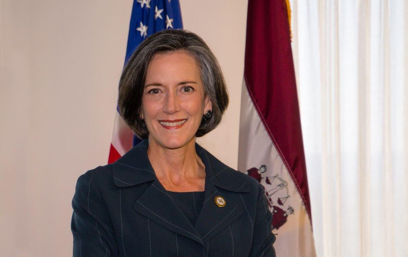 Dr. Valerie Arkoosh, the chairperson of the Montgomery County Board of Commissioners, plans to run for the state's open US Senate seat in 2022. (Courtesy of Montgomery County)