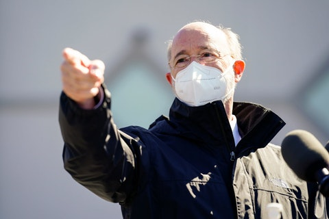 Two proposed amendments that voters will face deal with limiting the power of governors like Tom Wolf during disasters.
