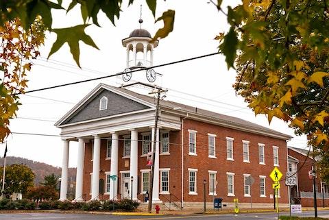FILE PHOTO: Fulton County Courthouse in Fulton, Pa. (AP Photo/Gene J. Puskar)