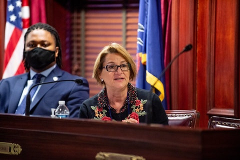 State Reps. Malcolm Kenyatta and Mary Isaacson (both D-Philadelphia) lead a hearing on Pennsylvania's HIV criminalization laws on Oct. 6, 2021. (Courtesy of Pennsylvania House of Representatives)
