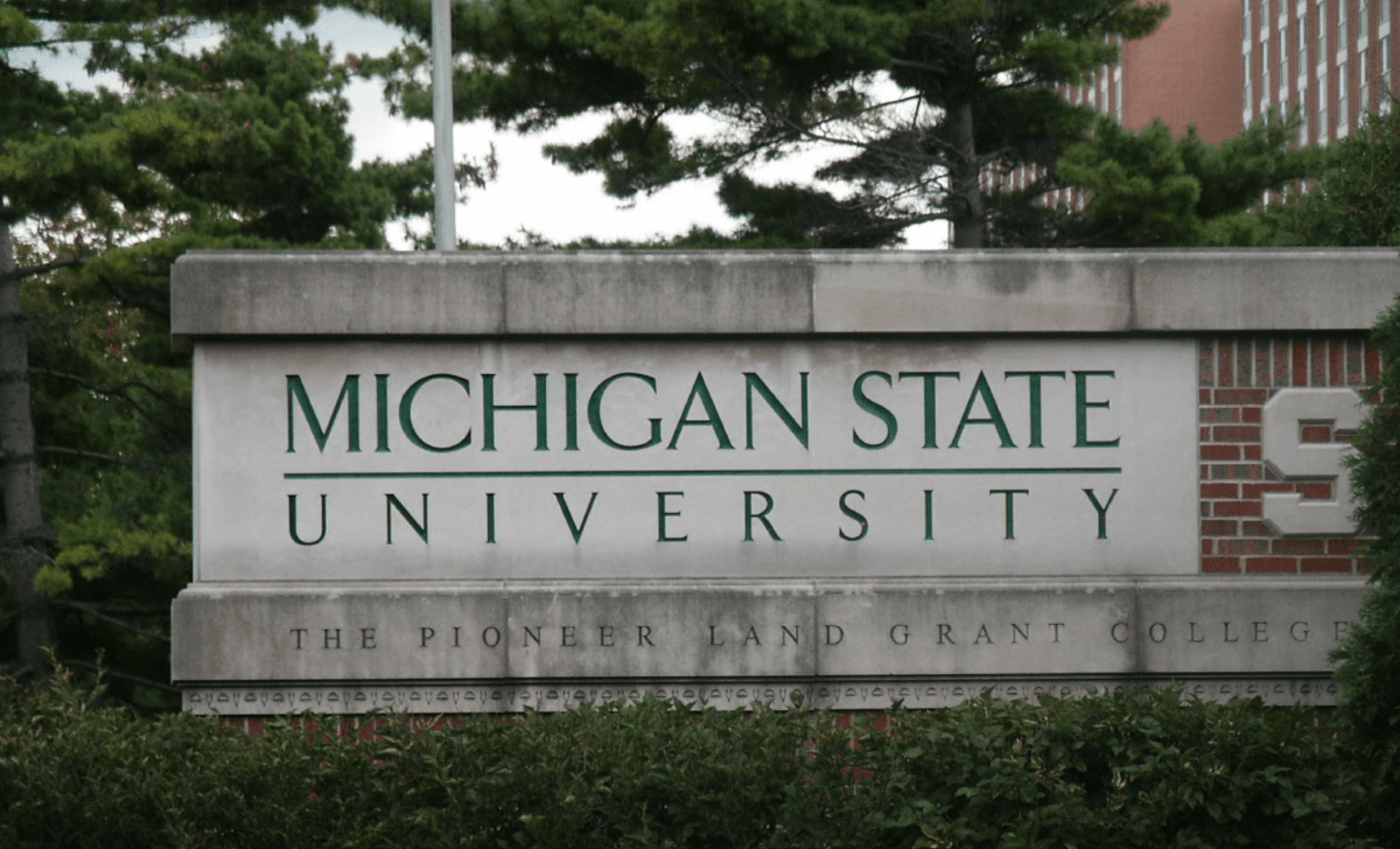 Michigan State University is among the institutions taking swift action during Michigan's coronavirus outbreak. Photo from Wiki Commons.