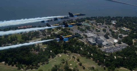 Photo courtesy U.S. Navy Blue Angels
