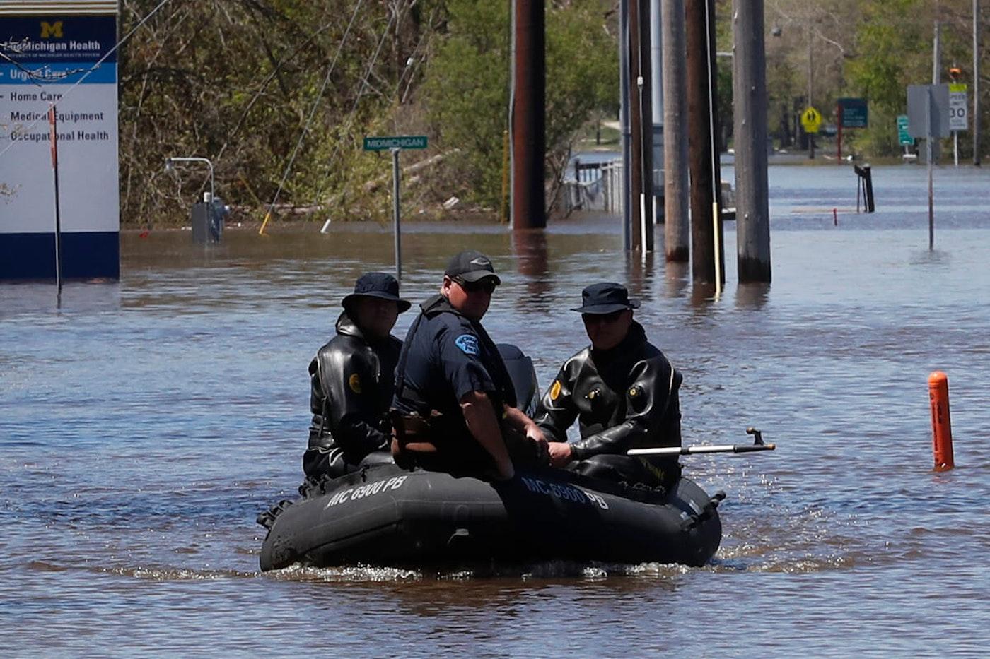Midland flood