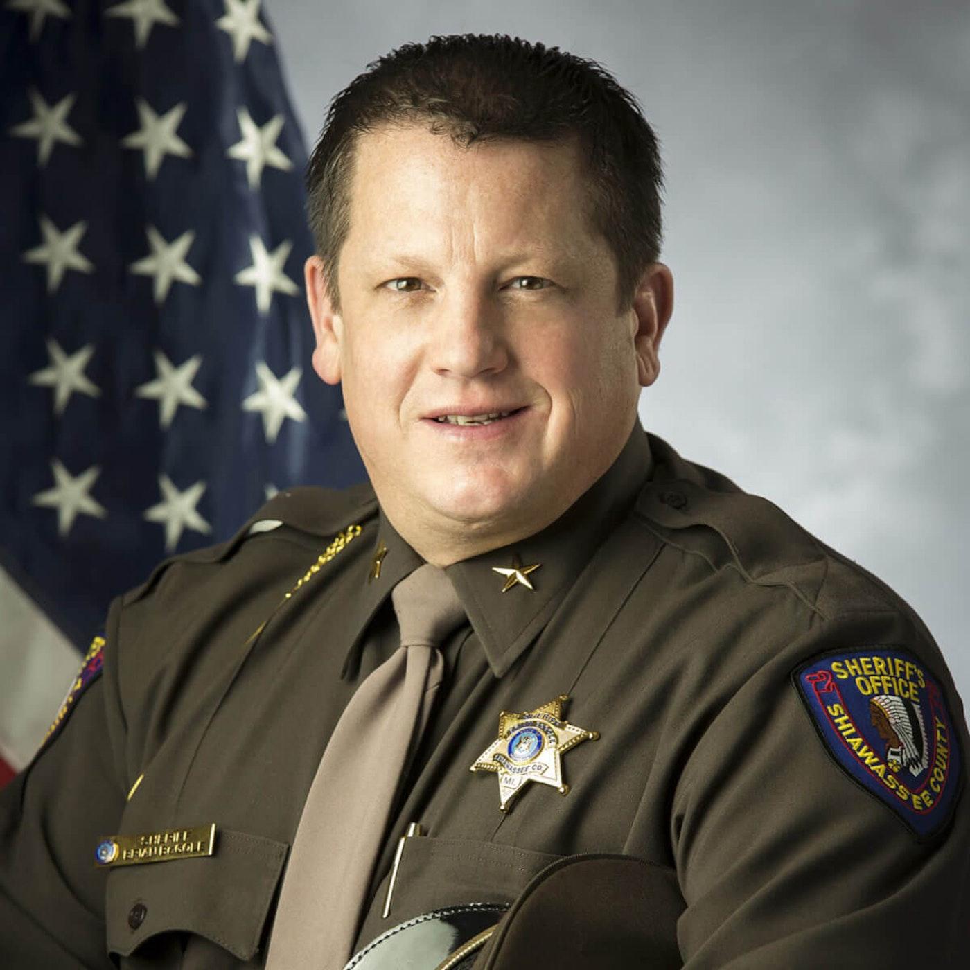 Sheriff Brian BeGole. Photo courtesy the Michigan Sheriffs Association.