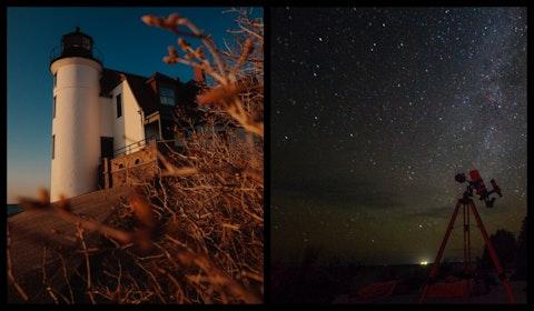 Point Betsie Lighthouse/dark skies park