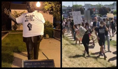 Orville Hubbard mayor dearborn racist statue