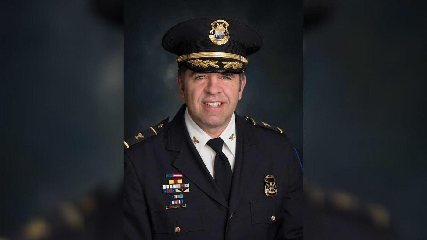 Shelby Township Police Chief Robert J. Shelide (Photo via Shelby Township)