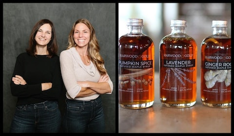 pumpkin spice, maple syrup, sisters, family business