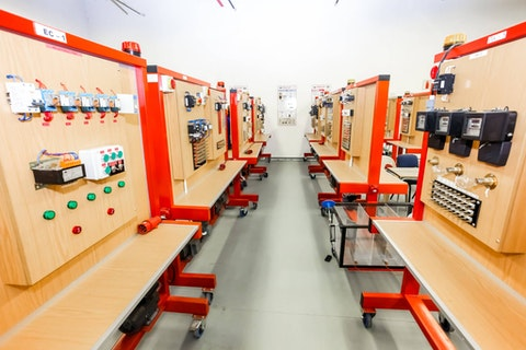 A vocational skills training center (Photo via Shutterstock)