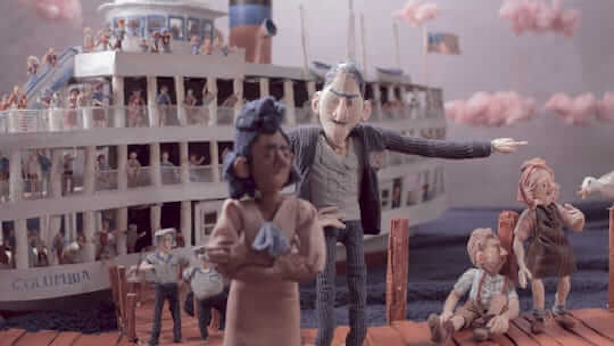 """The Detroit Free Press is hosting a short documentary that tells the story of unheralded Detroit civil rights hero Sarah Elizabeth Ray, who 75 years ago fought against Boblo segregation. The film, part of a larger, in-progress documentary called """"Boblo Boats: A Tale of Two Sisters,"""" incorporates stop-motion animation sequences alongside insightful interview with historian Desiree Cooper. (Image via the Detroit Free Press)"""