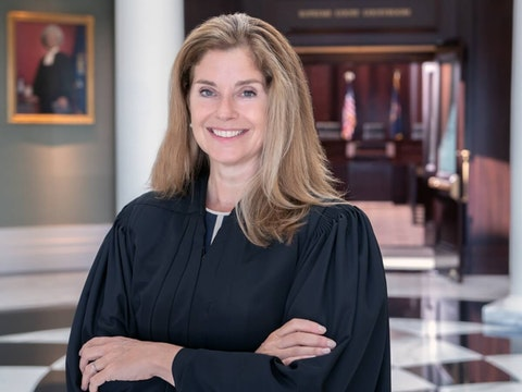 Chief Justice Bridget Mary McCormack. Photo via Michigan Courts.