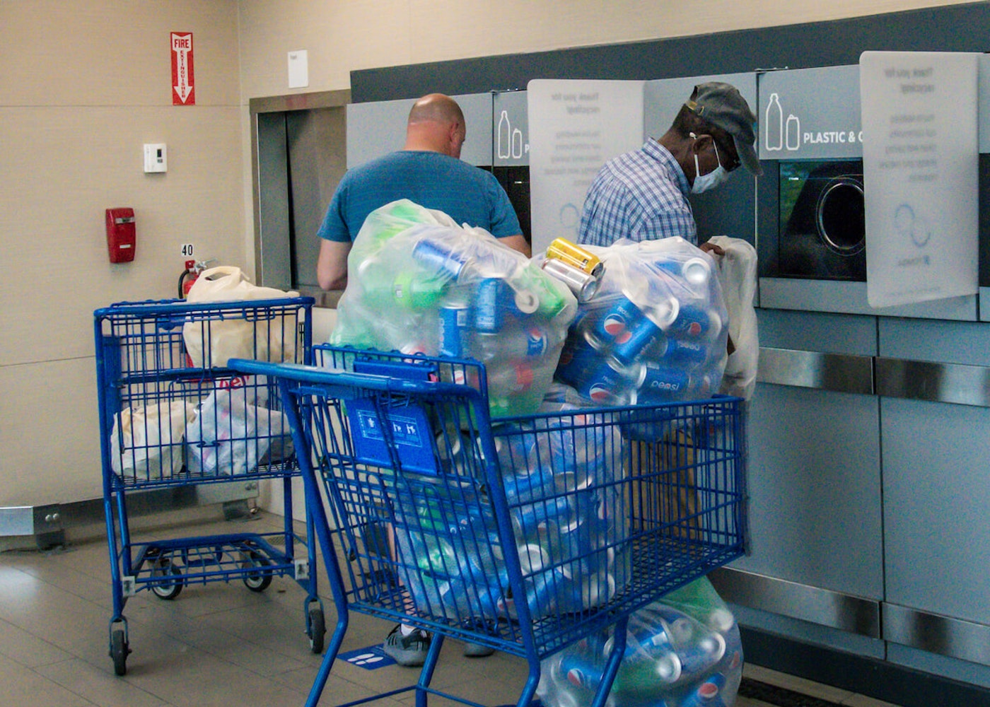 Meijer leadership is requesting patience from customers as they deal with a volume of returnable containers that they've never seen before. We've got some insight and tips from people handling a whole lot of returnables on how to make the process easier on everyone. (Photo via Meijer Newsroom)