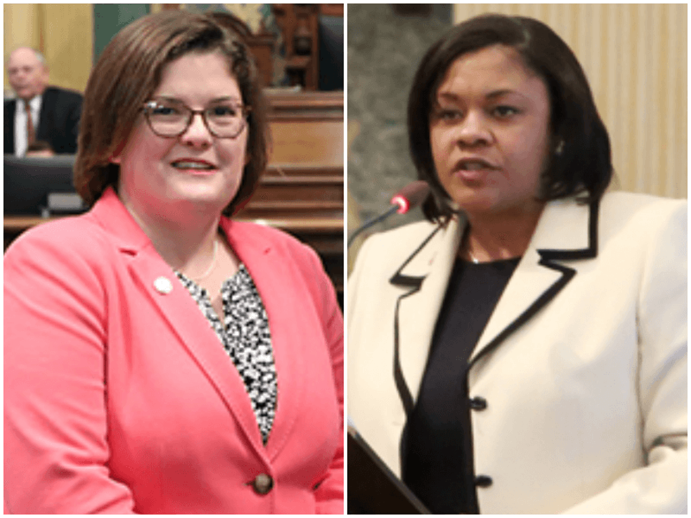 State Reps. Kara Hope and Leslie Love. Photos courtesy their offices.