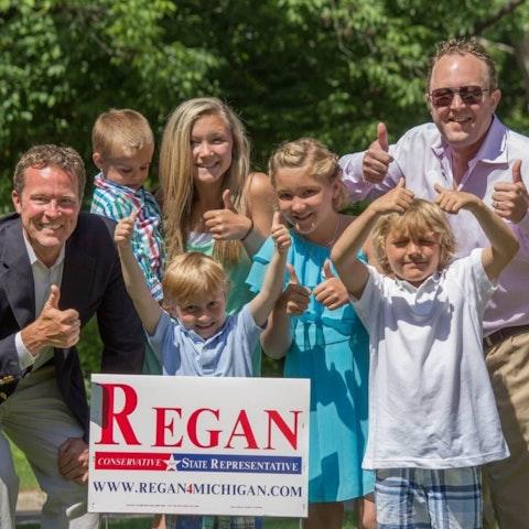 Robert Regan campaign photo Photo via Facebook