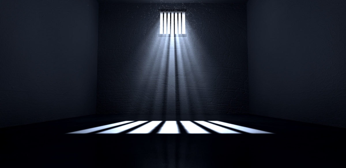 New data shows that as nonviolent offenders are released from Michigan jails to prevent the spread of the coronavirus, crime rates are not increasing. The information could signal the beginning of prison reform. Photo via Shutterstock.