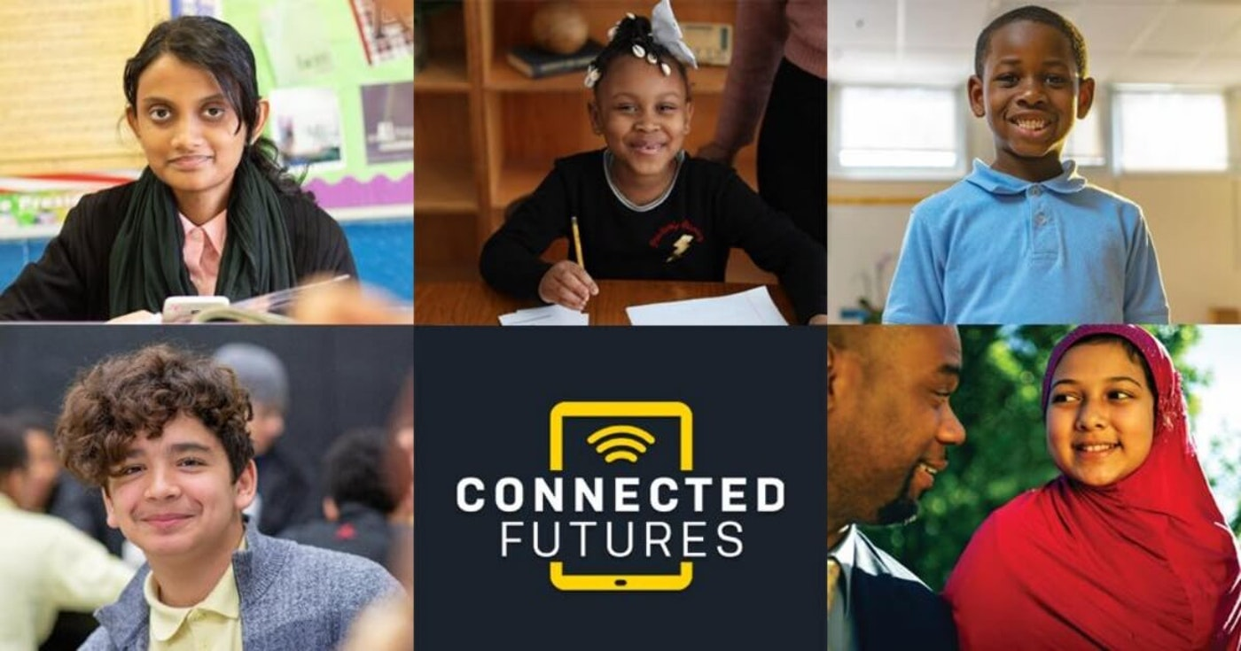 The Connected Futures Initiative will provide free tablets and internet access to Detroit schools students. Photo via DPSCD Facebook.