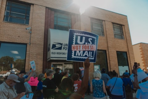 A common theme among participants was that the USPS is not for sale, and is to be protected by the public, for the public.