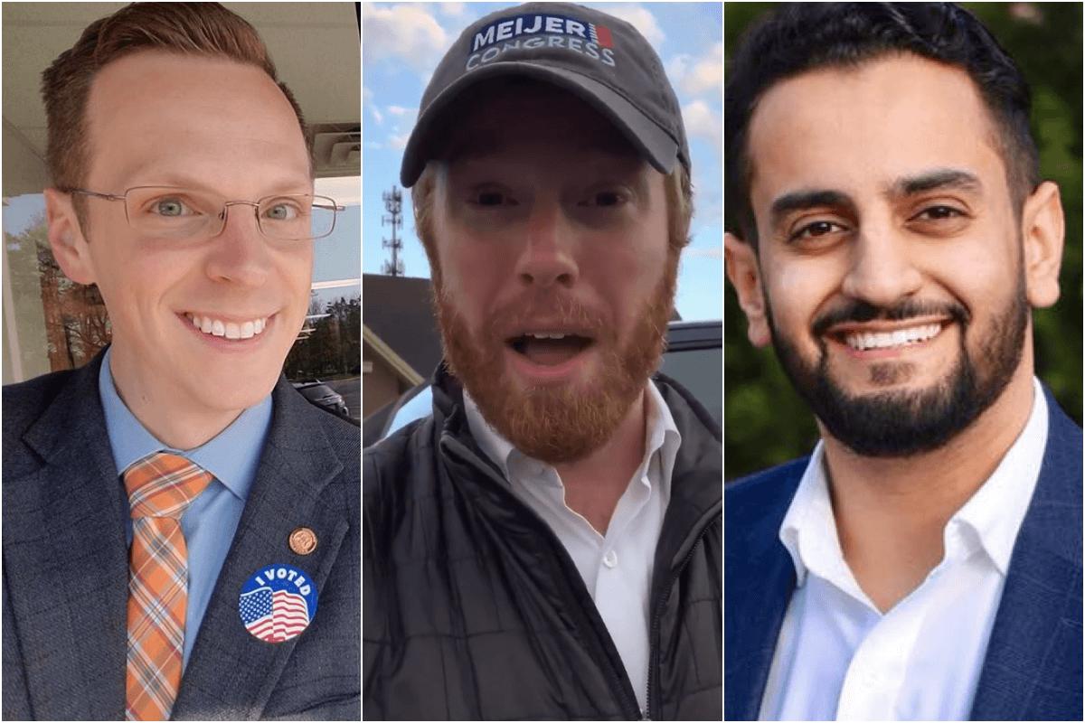 Hoadley, Meijer and Aiyash. Photos courtesy the candidates.