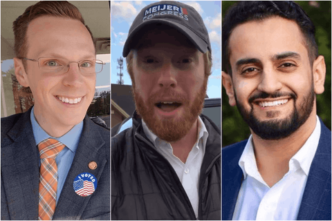 Hoadley, Meijer and Aiyash. Photos courtesy the candidates.