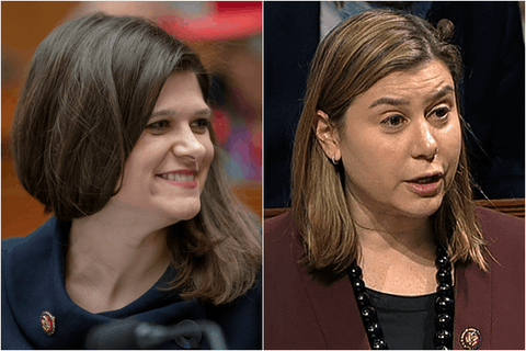Reps Haley Stevens and Elissa Slotkin. Photos courtesy the Associated Press.