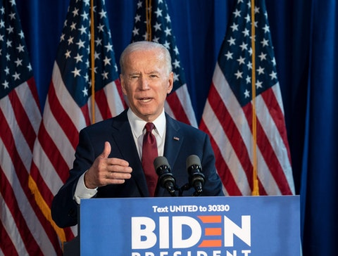 Presumptive Democratic nominee Vice President Joe Biden is laying out his plans and protections for businesses and workers. Photo via Shutterstock.