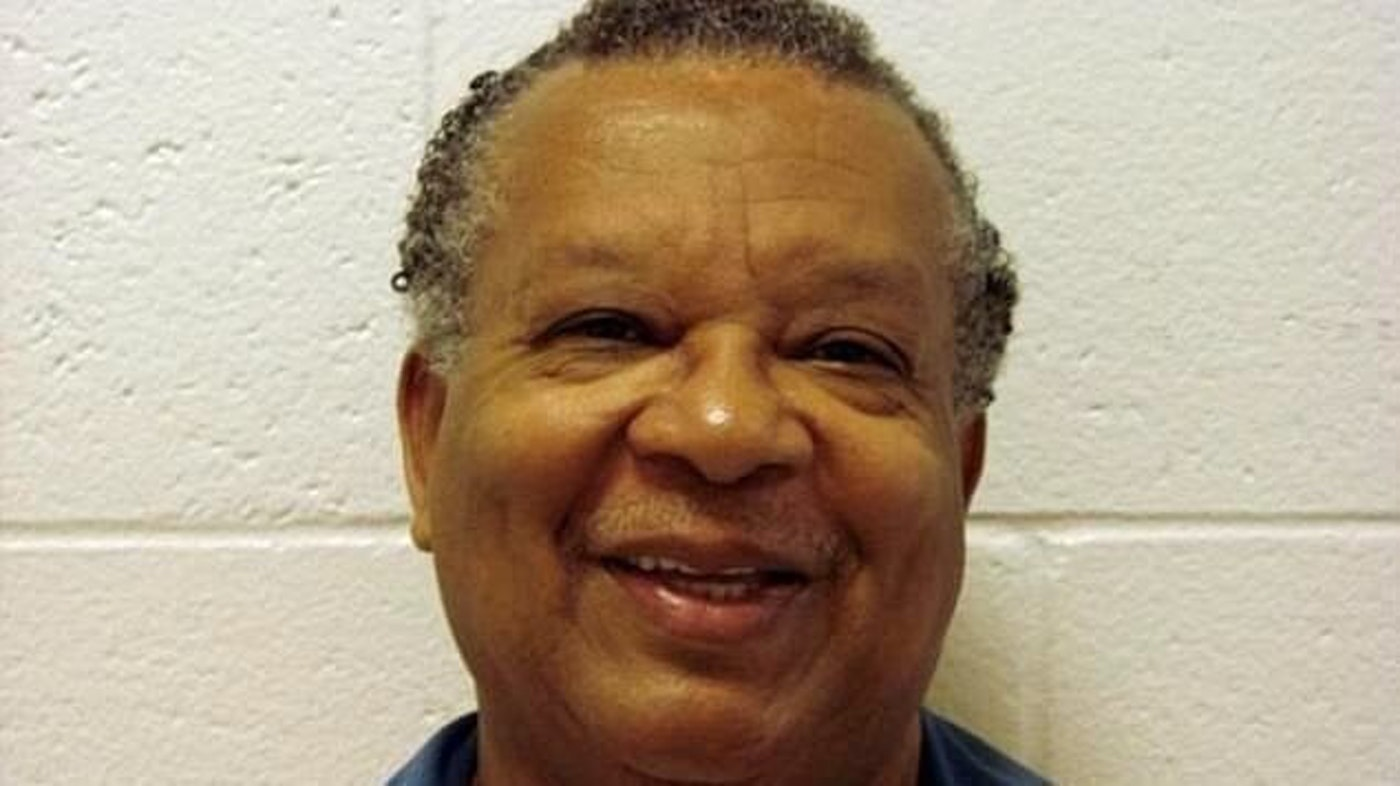 Michael Thompson's prison identification photos show the progression of time; 25 years lost for a nonviolent offense.