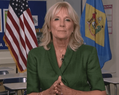 Dr. Jill Biden, in a screenshot of her speech at the 2020 Democratic National Convention.