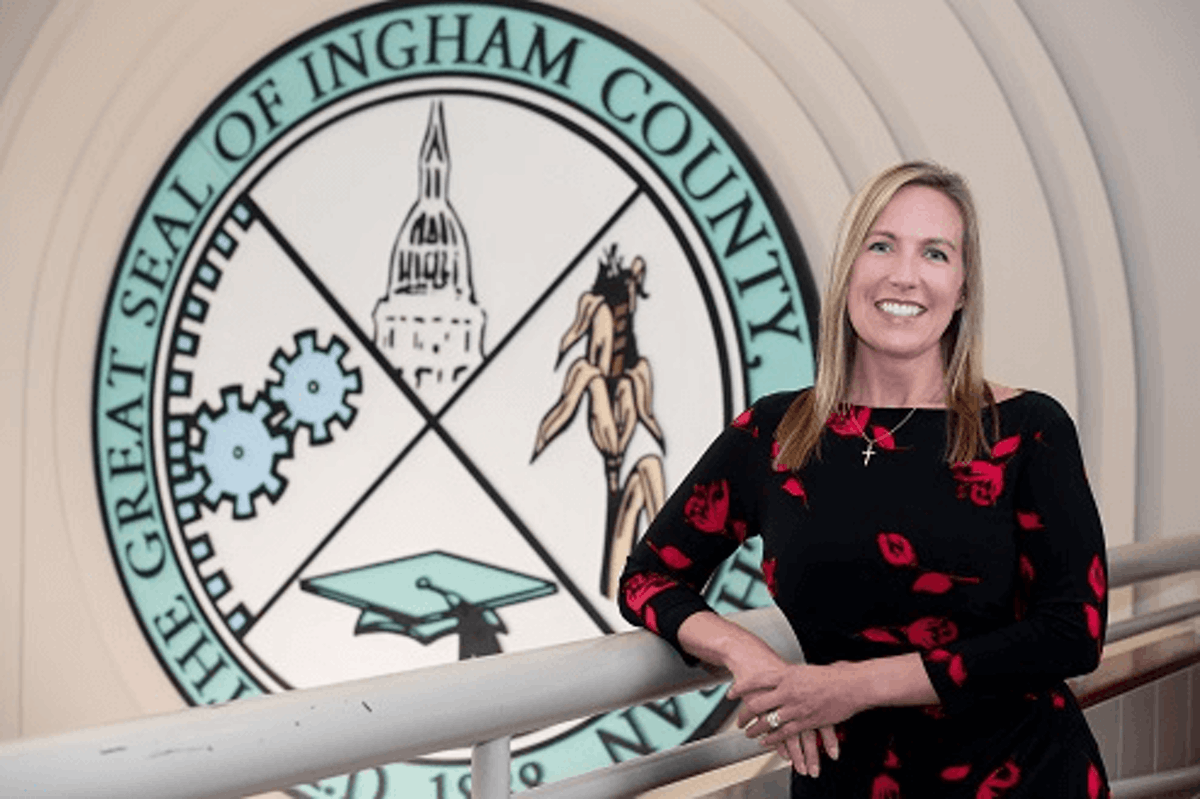 Ingham County Clerk Barbara Byrum. Photo courtesy Ingham County.