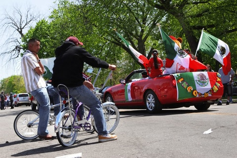 Cinco de Mayo parade in Detroit.