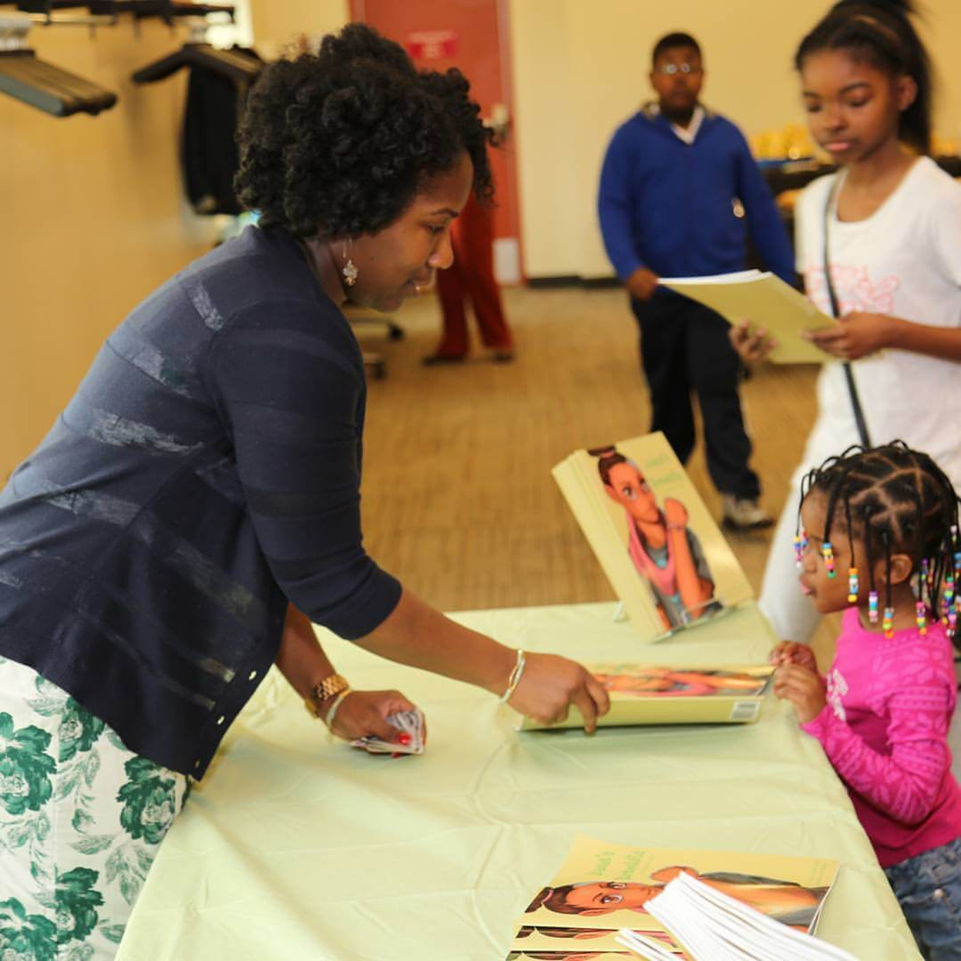 Financial guru Tasha Danielle encourages young people to get smart about their money.