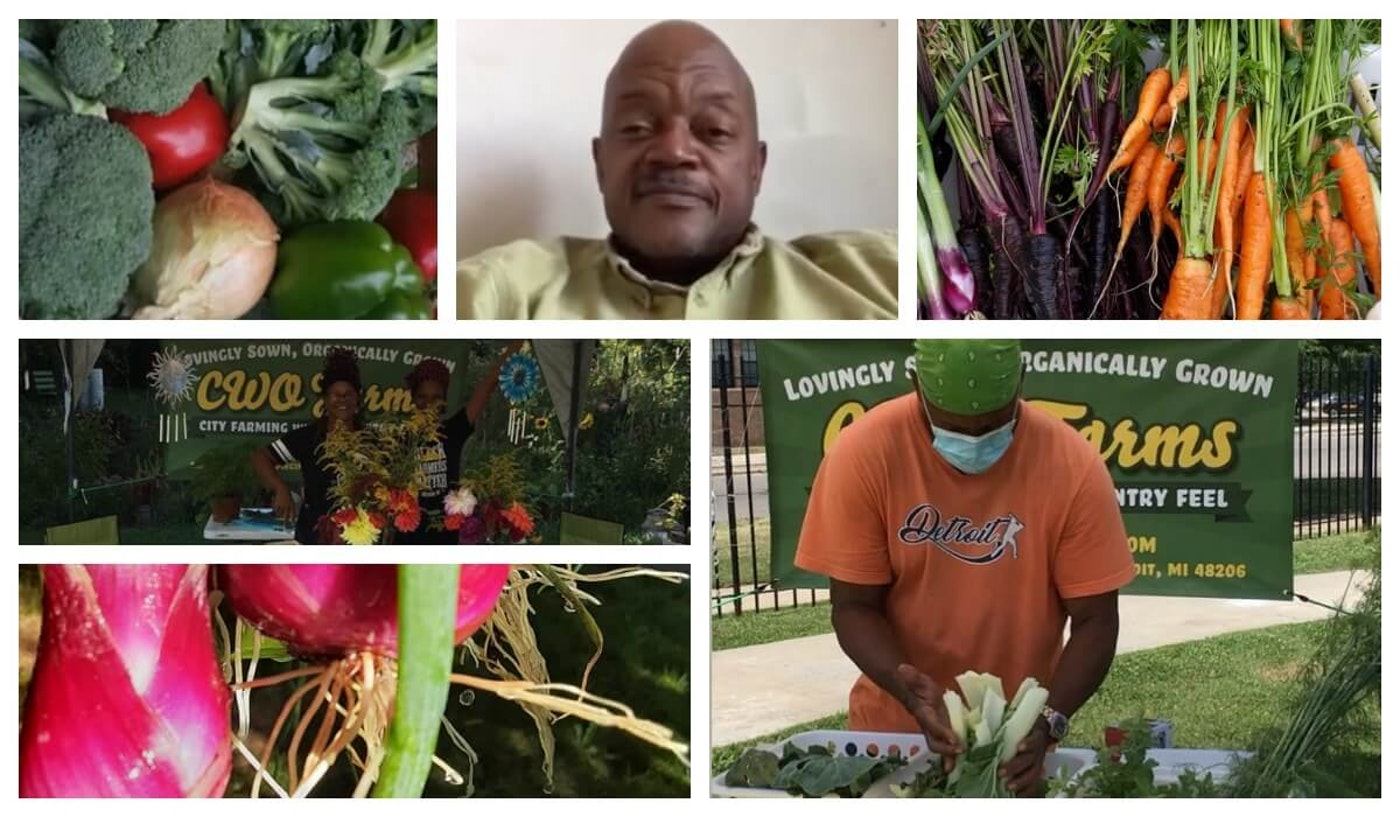 Mark Fentress of CWO Farms in Detroit is excited to extend his growing season and his impact on the community.