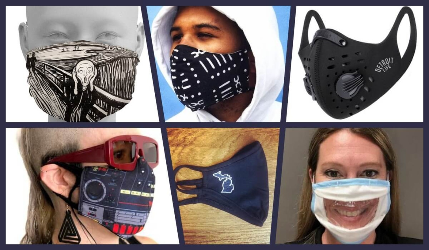 Michigan voters who choose to wears masks can cast their ballots in Michigan-made protective gear this election.