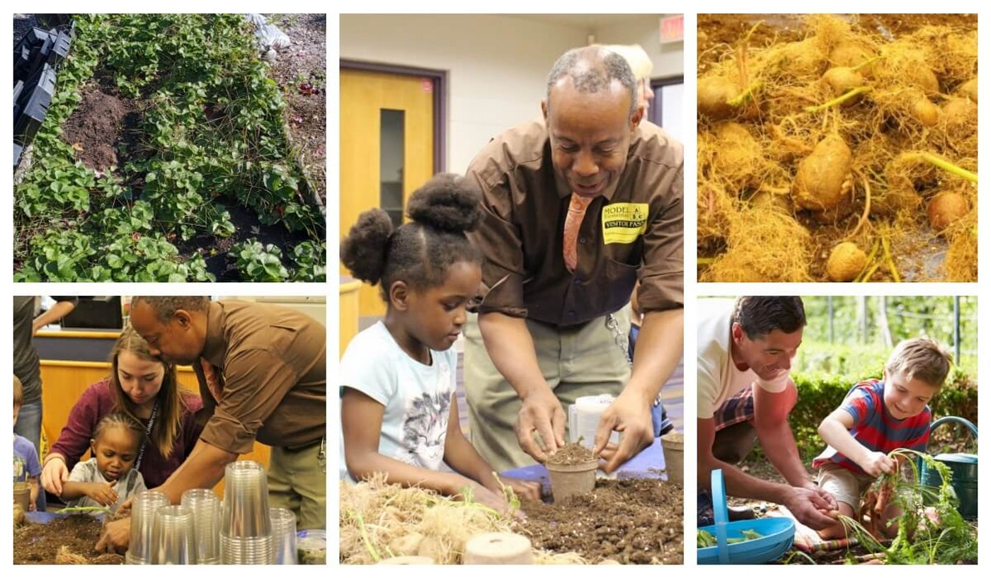 TC Collins, founder of Willow Run Acres, shares his knowledge and love of cultivation with children of all ages.